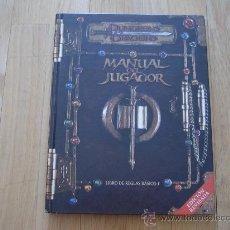 Juegos Antiguos: DUNGEONS & DRAGONS 3.0 REVISADO - SISTEMA D20 - MANUAL DEL JUGADOR- DEVIR - JUEGO DE ROL. Lote 27479052