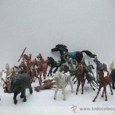 Juegos Antiguos: INTERESANTE LOTE DE CABALLOS DEL OESTE. Lote 27814451