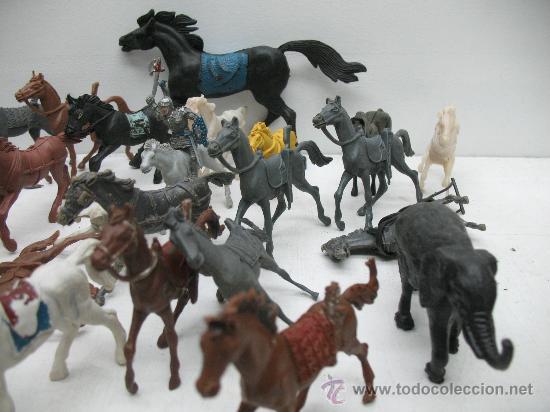 Juegos Antiguos: INTERESANTE LOTE DE CABALLOS DEL OESTE - Foto 4 - 27814451