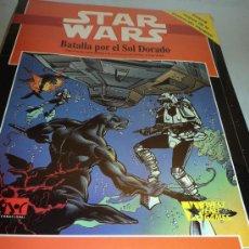 Juegos Antiguos: LIBRO STAR WARS, BATALLA POR EL SOL DORADO. TM 1992 LUCASFILM.. Lote 28392537