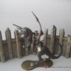 Juegos Antiguos: GUERRERO Y DOS MURALLAS.. Lote 28866946