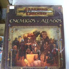 Juegos Antiguos: ENEMIGOS Y ALIADOS - DUNGEONS & DRAGONS / JUEGO DE ROL. Lote 28964203