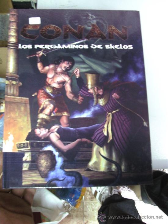 CONAN : LOS PERGAMINOS DE SKELOS - JUEGO DE ROL / EDGE - (Juguetes - Rol y Estrategia - Juegos de Rol)