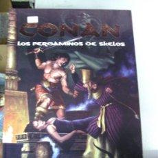 Juegos Antiguos: CONAN : LOS PERGAMINOS DE SKELOS - JUEGO DE ROL / EDGE - . Lote 28964616