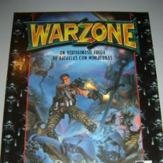 Juegos Antiguos: WAR ZONE - MUTANT CHRONICLES - VERTIGINOSO JUEGO DE BATALLAS MINIATURAS - RAREZA. Lote 28981854