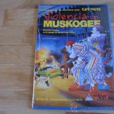 Juegos Antiguos: VIOLENCIA EN MUSKOGEE - CAR WARS - JUEGO DE ROL - JOC INTERNACIONAL - STEVE JACKSON GAMES. Lote 29436369