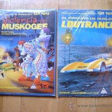 Juegos Antiguos: PACK DE MODULOS PARA CAR WARS - JUEGO DE ROL - JOC INTERNACIONAL - STEVE JACKSON GAMES. Lote 45464669
