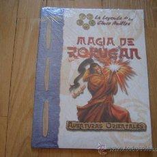 Juegos Antiguos: LA LEYENDA DE LOS CINCO ANILLOS - MAGIA DE ROKUGAN JUEGO DE ROL LA FACTORÍA AVENTURAS ORIENTALES D20. Lote 29504186