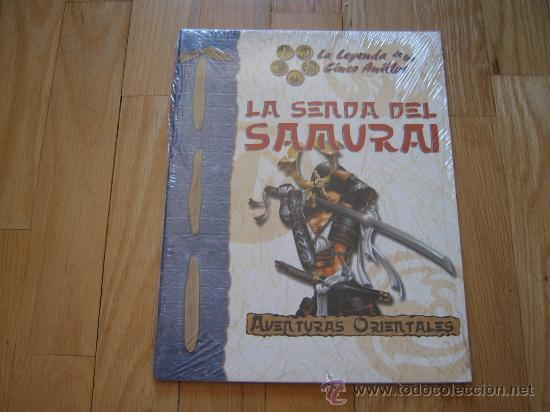 LA LEYENDA DE LOS CINCO ANILLOS LA SENDA DEL SAMURAI JUEGO ROL LA FACTORÍA AVENTURAS ORIENTALES D20 (Juguetes - Rol y Estrategia - Juegos de Rol)