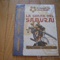 Juegos Antiguos: LA LEYENDA DE LOS CINCO ANILLOS LA SENDA DEL SAMURAI JUEGO ROL LA FACTORÍA AVENTURAS ORIENTALES D20. Lote 29504231