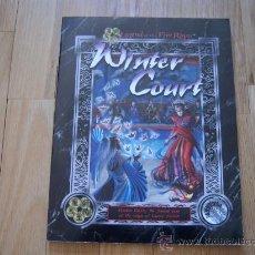 Juegos Antiguos: LA LEYENDA DE LOS CINCO ANILLOS -INGLÉS- WINTER COURT - JUEGO ROL. Lote 29505374
