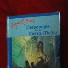Juegos Antiguos: PERSONAJES DSE LA TIERRA MEDIA - AGNUS MC BRIDE - JOC INTERNACIONAL - ILUSTRADO - CARTONE. Lote 46983047