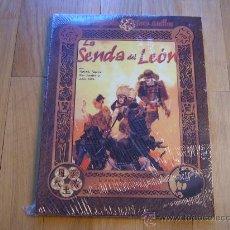 Juegos Antiguos: LA LEYENDA DE LOS CINCO ANILLOS - LA SENDA DEL LEÓN - JUEGO DE ROL - LA FACTORÍA - PRECINTADO. Lote 30198554