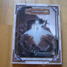 Juegos Antiguos: DUNGEONS & DRAGONS - GHOSTWALK CAMPAIGN - INGLÉS - JUEGO DE ROL - WOTC 2003 1ST PRINTING D20 3.0. Lote 30259358