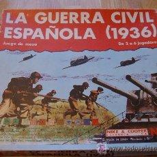 Juegos Antiguos: JUEGO NAC LA GUERRA CIVIL ESPAÑOLA A ESTRENAR TOTALMENTE TROQUELADO Y COMPLETO . Lote 30307920