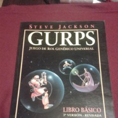 Juegos Antiguos: GURPS LIBRO BASICO 3ª VERSION REVISADA ROL LA FACTORIA DE IDEAS. Lote 30437707