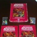 Juegos Antiguos: DUNGEONS & DRAGONS ( DALMAU CARLES PLA - 1985 ) + TODOS LOS MODULOS EDITADOS. Lote 30516305