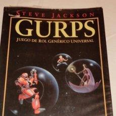 Juegos Antiguos: GURPS - PANTALLA DEL DIRECTOR - ROL - LA FACTORIA DE IDEAS. Lote 30959416