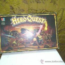 Juegos Antiguos: HERO QUEST JUEGO DE MESA DE M.B DESCATALOGADO,HERO QUEST.EN ESPAÑOL AÑO 1989. Lote 171862350