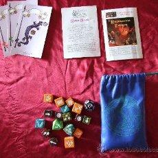 Juegos Antiguos: LOTE DE DRAGON DICE - TSR AÑO 1995 - INGLES. Lote 31292656