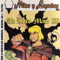 Jeux Anciens: MITOS Y LEYENDAS: AD INTRA MARE (VOL.2) SUPLEMENTO OFICIAL PARA AQUELARRE, EL JUEGO DE ROL.. Lote 32134410