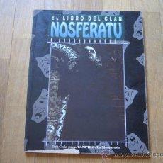 Juegos Antiguos: VAMPIRO LA MASCARADA - EL LIBRO DEL CLAN NOSFERATU - JUEGO DE ROL - LA FACTORIA. Lote 32138129