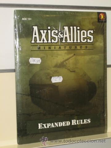 AXIS & ALLIES MINIATURES EXPANDED RULES - AVALON HILL OFERTA (ANTES 19,95 EU.) (Juguetes - Rol y Estrategia - Otros)