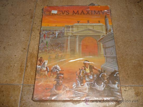 JUEGO ROL CIRCUS MAXIMUS CIRCVS MAXIMVS AVALON 1980 1ª EDICION VERSION USA RARO MUY BUSCADO BLISTER (Juguetes - Rol y Estrategia - Juegos de Rol)