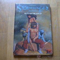Juegos Antiguos: STORMBRINGER - EL LOBO BLANCO - JUEGO DE ROL - JOC INTERNACIONAL - PRECINTADO. Lote 32646781