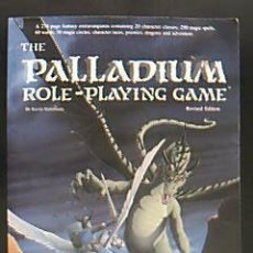 Juegos Antiguos: THE PALLADIUM. ROLE-PLAYING GAME. REVISED EDITION. BY KEVIN SIEMBIEDA. 1992. Lote 32886741