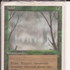 Juegos Antiguos: DECKMASTER MAGIC THE GATHERING, NEBEL, SPONTANZAUBER. Lote 33253386