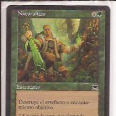 Juegos Antiguos: DECKMASTER MAGIC THE GATHERING, NATURALIZAR, INSTANTÁNEO. Lote 33253466