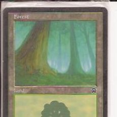 Juegos Antiguos: DECKMASTER MAGIC THE GATHERING, FOREST, LAND. Lote 33254280