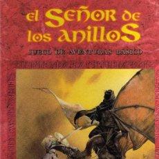 Juegos Antiguos: JUEGO DE ROL EL SEÑOR DE LOS ANILLOS (LIBRO DE AVENTURAS BÁSICO) AÑO 1992 ¿1ª EDICIÓN?. Lote 33319278