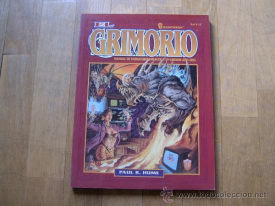 SHADOWRUN - EL GRIMORIO - JUEGO DE ROL - ZINCO - FASA (Juguetes - Rol y Estrategia - Juegos de Rol)