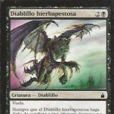 Juegos Antiguos: +-+ CR02 - MAGIC THE GATHERING - DIABLILLO HIERBAPESTOSA - CRIATURA - DIABLILLO. Lote 33636828