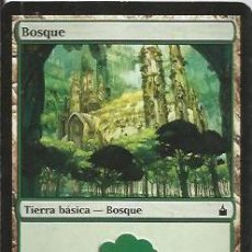 Juegos Antiguos: +-+ CR31 - MAGIC THE GATHERING - BOSQUE - TIERRA BASICA - BOSQUE. Lote 33639118