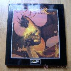 Juegos Antiguos: LIBRO DE ILUSTRACIONES LE MONDE DE DONJONS & DRAGONS - SOLEIL 1994 -FRANCES- DUNGEONS & DRAGONS ROL. Lote 34325083