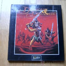 Juegos Antiguos: LIBRO DE ILUSTRACIONES LES PEUPLES DE DONJONS & DRAGONS SOLEIL 1994 -FRANCES- DUNGEONS & DRAGONS ROL. Lote 34325113