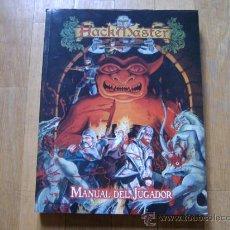 Juegos Antiguos: HACKMASTER - GUÍA DEL JUGADOR - JUEGO DE ROL - DEVIR. Lote 34643123