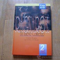 Juegos Antiguos: RAGNAROCK - BÁSICO 2ª EDICIÓN - UN NUEVO COMIENZO - JUEGO DE ROL - LUDOTECNIA 1995. Lote 34919718