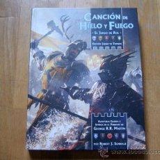 Juegos Antiguos: CANCIÓN DE HIELO Y FUEGO - BÁSICO - EDICIÓN JUEGO DE TRONOS - JUEGO DE ROL - EDGE 2012. Lote 35028697