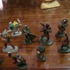 Juegos Antiguos: LOTE DE FIGURITAS EN PLOMO DE PERSONAJES DE TIPO ROL, TODOS DIFERENTES Y FABRICADOS EN BUENA CALIDAD. Lote 35208690