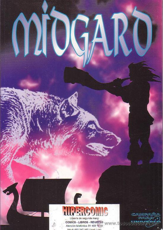 JUEGO DE ROL, MIDGARD - CAMPAÑA PARA UNIVERSO -EDITA - CRONOPOLIS 1994 (Juguetes - Rol y Estrategia - Juegos de Rol)