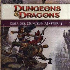 Juegos Antiguos: DUNGEONS & DRAGONS - GUIA DEL DUNGEON MASTER 2. Lote 35339550