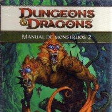 Juegos Antiguos: DUNGEONS & DRAGONS - MANUAL DE MONSTRUOS 2. Lote 35339597