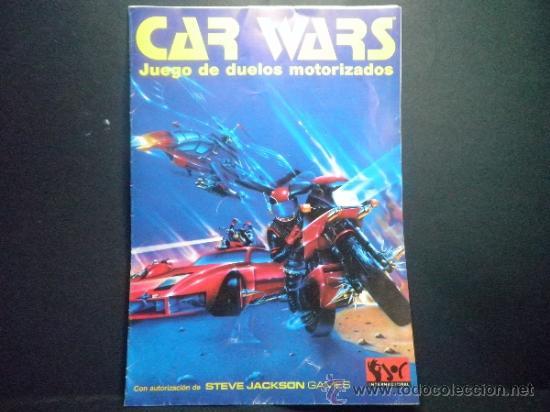 JUEGO DE INICIACION CAR WARS JUEGO DE DUELOS MOTORIZADOS (Juguetes - Rol y Estrategia - Juegos de Rol)