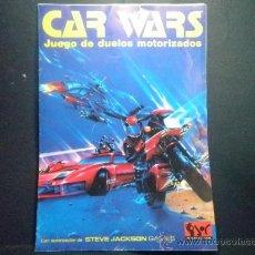 Juegos Antiguos: JUEGO DE INICIACION CAR WARS JUEGO DE DUELOS MOTORIZADOS. Lote 36341169