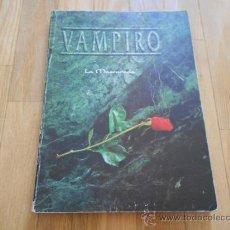 Juegos Antiguos: VAMPIRO LA MASCARADA - BÁSICO - JUEGOS DE ROL - DISEÑOS ORBITALES. Lote 37089472