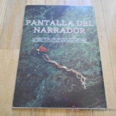 Juegos Antiguos: VAMPIRO LA MASCARADA - PANTALLA DEL NARRADOR - JUEGOS DE ROL - DISEÑOS ORBITALES. Lote 37089479